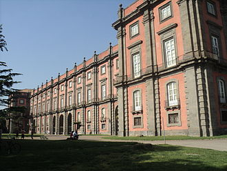 Timeline of Naples - The Palace of Capodimonte was built in 1742