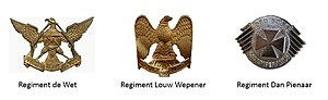 Regiment Bloemspruit - Regiment Bloemspruit Amalgamated Regiments