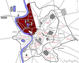Regio IX Circus Flaminius Historical region of Rome