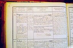 Registre prison Montfort 1868