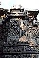 Relief Sculpture of Krishna Hoysaleswara Temple Halebid.jpg