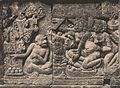 Relief on Prambanan - Hanuman meeting Sita, Pentas Ramajana, p33.jpg