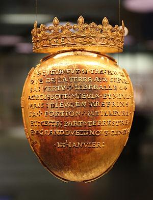 Reliquaire Anne de Bretagne - Musée de Bretagne 20141102-02