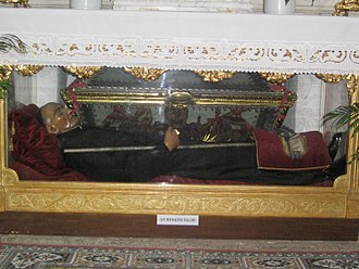 Bernardino Realino - Tomb of Saint Bernardino Realino in Lecce.