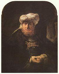 Rembrandt: Man in Oriental Costume