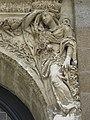 Rennes (35) Église Notre-Dame en Saint-Melaine Extérieur Tour-clocher Détail 02.jpg