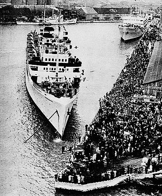 Koreans in Japan - Repatriation of Koreans from Japan, January 1960