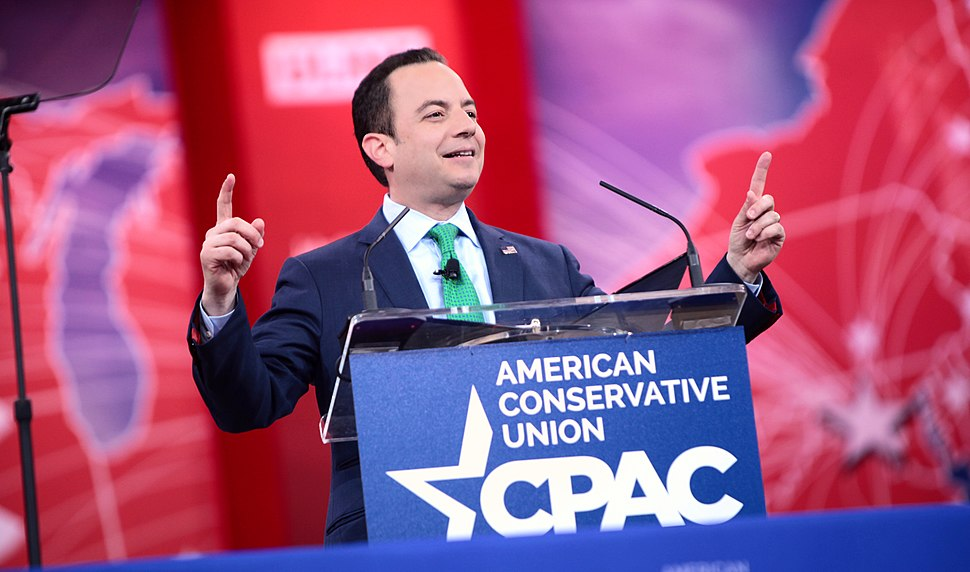 Republican National Committee Chairman Reince Priebus speaks at 2015 Conservative Political Action Conference (CPAC)