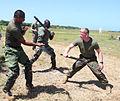 Reserve Marine instructs Caribbean veterans in Barbados 120618-M-OS573-001.jpg