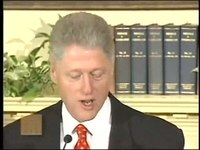 קובץ:Response to the Lewinsky Allegations (January 26, 1998) Bill Clinton.ogv