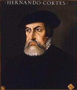 Retrato de Hernán Cortés