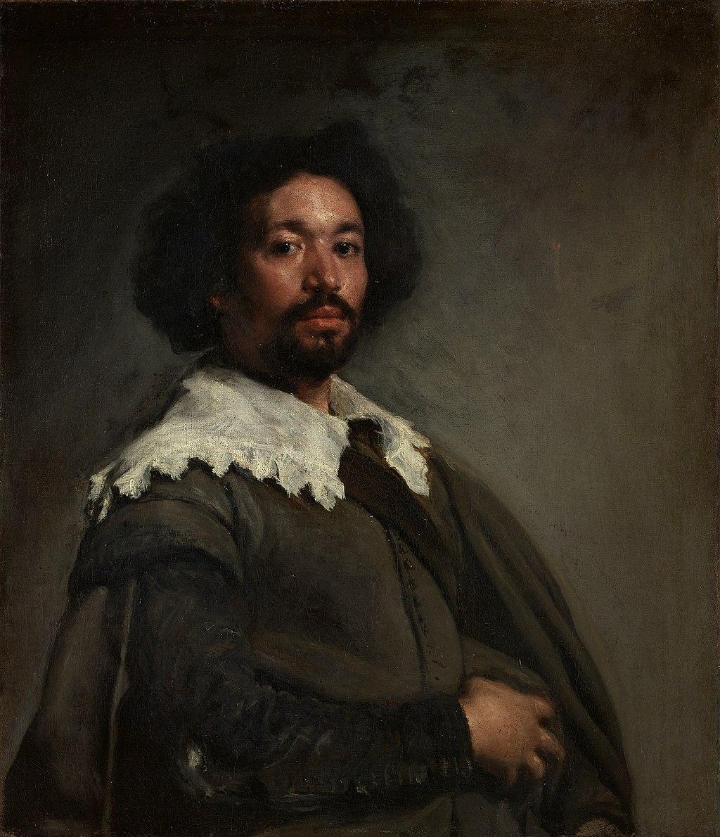 """""""Portrait of Juan de Pareja"""" by Diego Velázquez"""