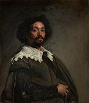 Retrato de Juan Pareja, by Diego Velázquez