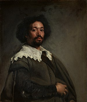 1649 in art - Image: Retrato de Juan Pareja, by Diego Velázquez