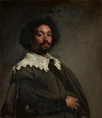 Mulatto - Juan de Pareja by Diego Velázquez, 1650