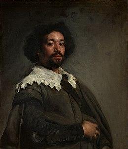 El mulato Juan de Pareja , por Velázquez (c. 1650 ).
