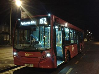London Buses route 152 London bus route
