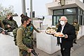 Reuven Rivlin giving sufganiyot and cakes to IDF soldiers, December 2020 (GPOABG 0426).jpg