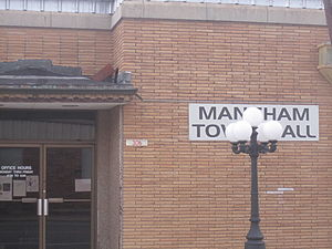 Mangham, Louisiana - Mangham Town Hall