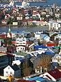 Reykjavik - old town and Tjornin.jpg