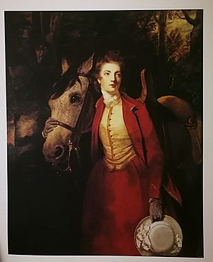 Lord Charles Spencer - Portrait of Lady Charles Spencer by Sir Joshua Reynolds