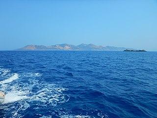 Ro, Greece small Greek island in the eastern Mediterranean Sea near Kastellorizo