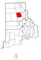 Rhode Island Municipalities Johnston Highlighted.png