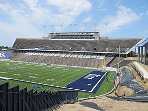 Rice Stadium (Rice University) - Rice Stadium, Press Box Side 2016