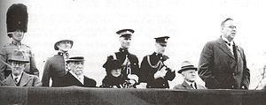 Joseph Clarke (politician) - Clarke, seated at left, on the occasion of George V's silver jubilee