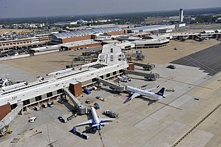Richmond International Airport airport near Richmond, Virginia, United States