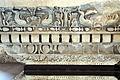 Ricostruzione dell'attico del foro di nerva, coronamento, 97 dc, 02.JPG