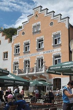 Marktplatz in Riedenburg