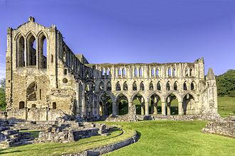 Rievaulx Abbey - Image: Rievaulx Abbey wyrdlight 24588