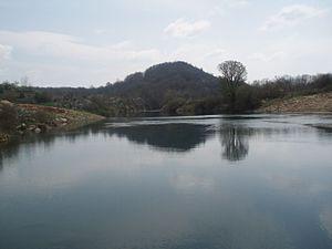 Lika (river) - Lika River, near Kosinj