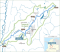 Rio Bogota plain map.png
