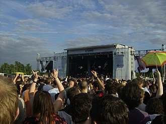 Finsbury Park - The 2008 Rise Festival being held in Finsbury Park
