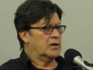 English: Robbie Robertson during a March, 2011...