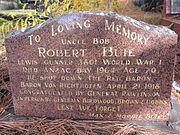 Robert Buie headstone