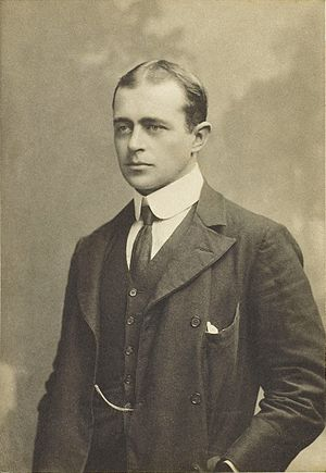 Robert Falcon Scott - Scott as a young man