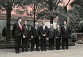 Robert Rubin meets with the G7 ministers at the Blair house.jpg
