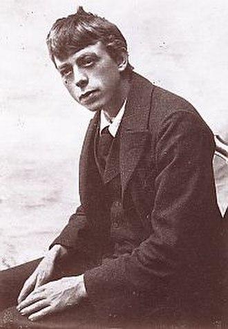 Robert Walser (writer) - Robert Walser in the 1890s