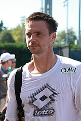 Robin Söderling an den US Open 2010