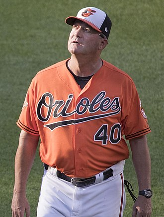 Roger McDowell - McDowell with the Baltimore Orioles