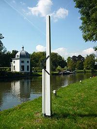 Rolpaal gereconstrueerd bij Maarssen langs de Vecht.jpg