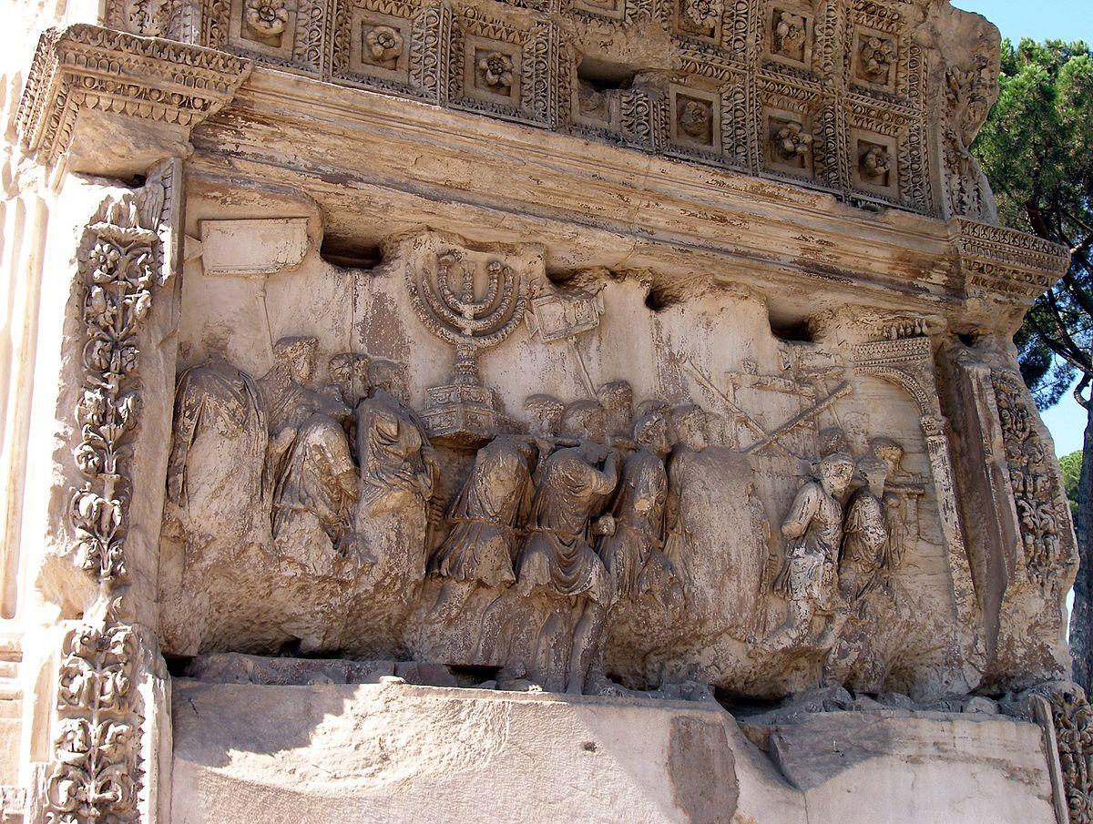 Rom, Titusbogen, Triumphzug 3.jpg