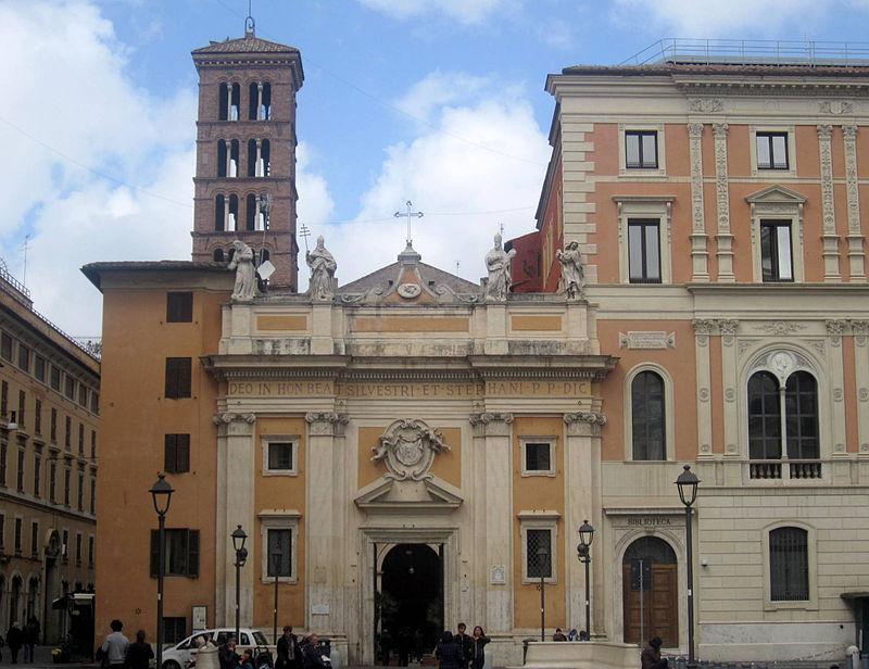 Rom - Church of San Silvestro.jpg