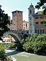 Roma - Scorcio del Ponte Fabricio e dell'Isola Tiberina.jpg