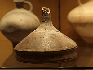 Funnel - A ceramic Roman kitchen funnel (1st–3rd century AD)