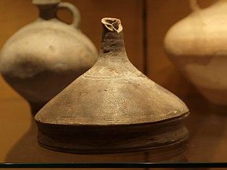 Funnel - A ceramic Roman kitchen funnel (1st–3rd century AD)