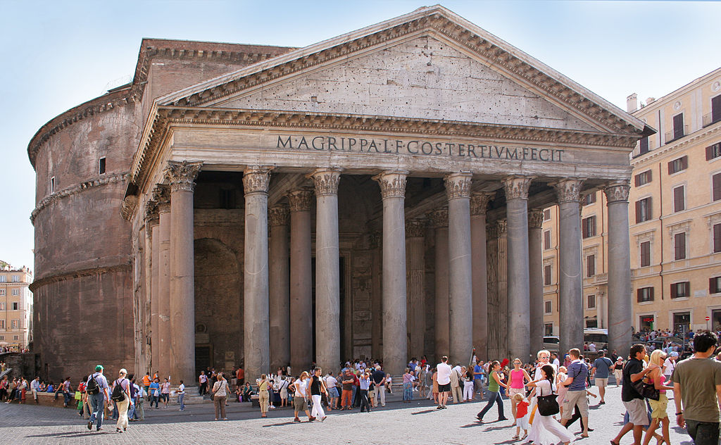 Rome Pantheon front